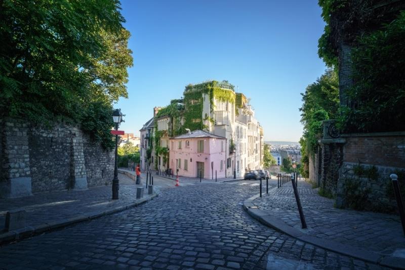 Paris gastronomie quartier butte Montmartre