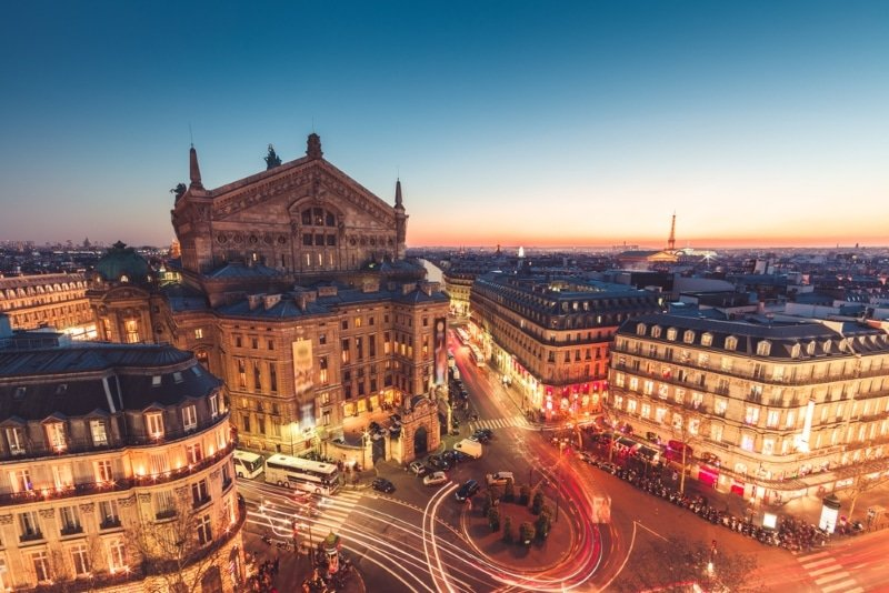 Paris gastronomique opera madeleine