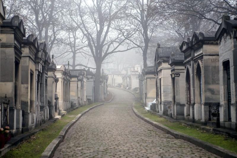 Paris, le cimetière du Père Lachaise
