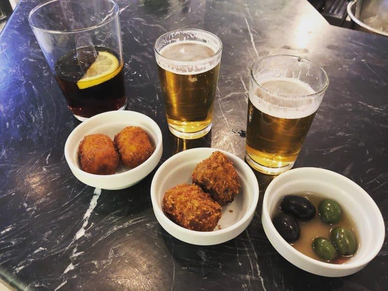 Pez Tortilla, Tapas, Croquetas, Madrid