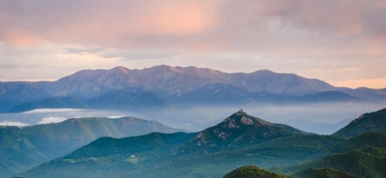 Pic de Canigou parapente dans les Pyrénées