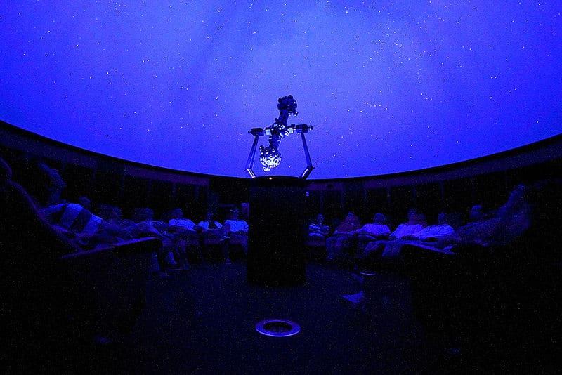 Planetarium de reims sous la coupole