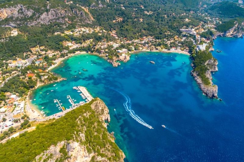 Paleokastritsa - plongée en Grèce Ile de Corfou