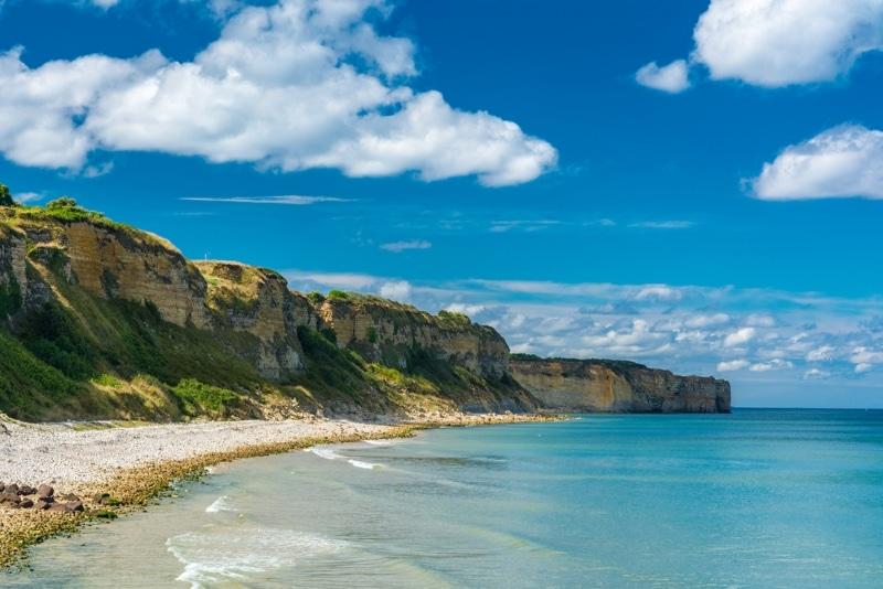 Plongée à Omaha Beach, les plages du Débarquement en Normandie