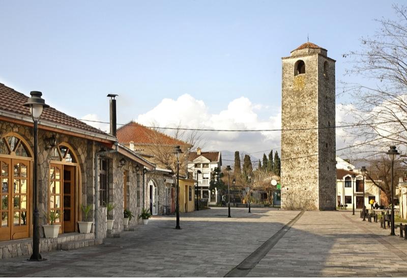 Tour de l'Horloge,  Stara Varoš, Podgorica