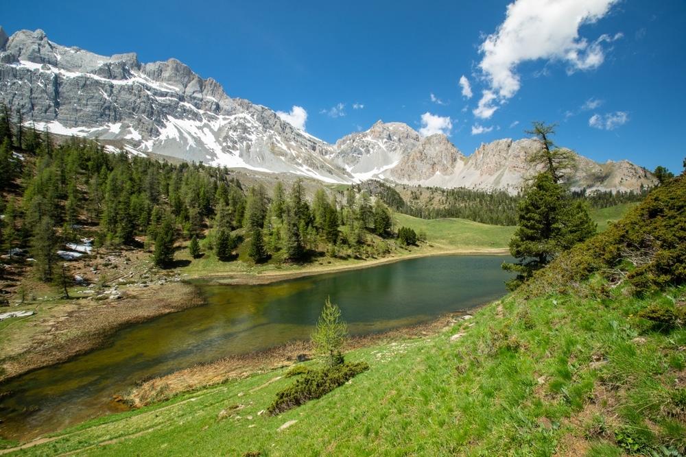 Meilleur sport de randonnée en France, le queyras ceillac lac miroir