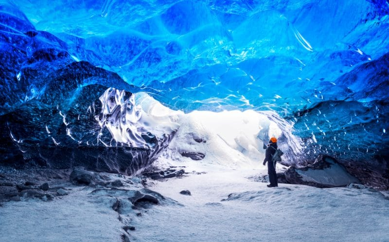 Randonnée sur les glaciers à Skaftafell