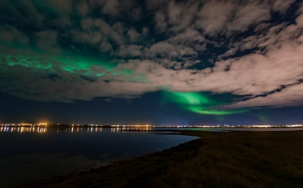 Observer les aurores boréales à Reykjavik