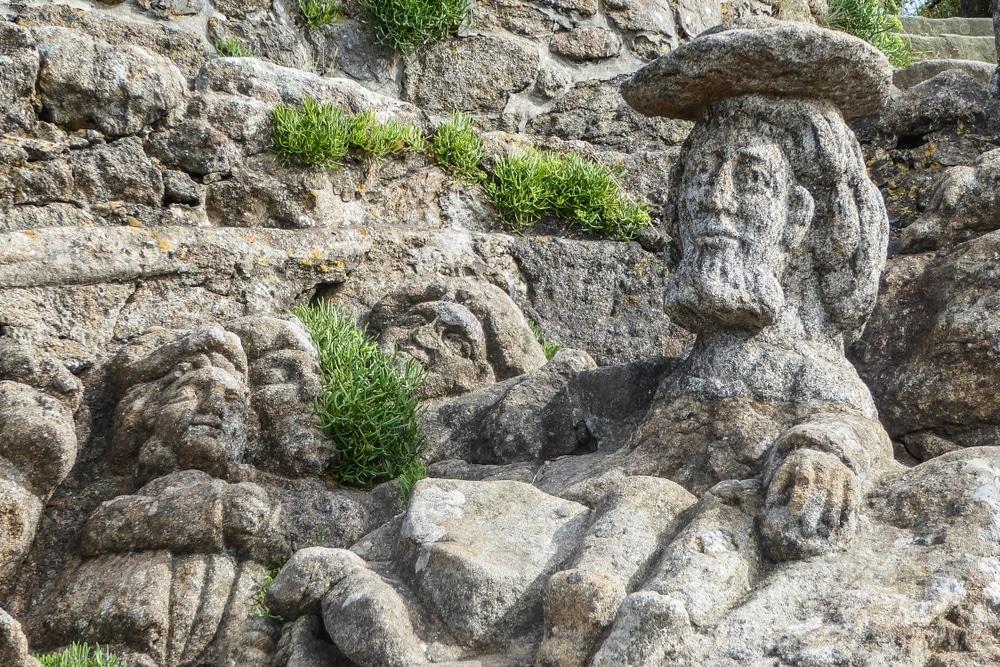 rochers sculptés de l'Abbé Fourré