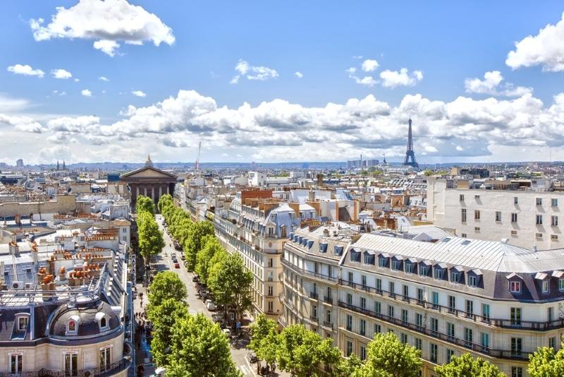 rooftop au top - vue sur les toits du Marais à Paris