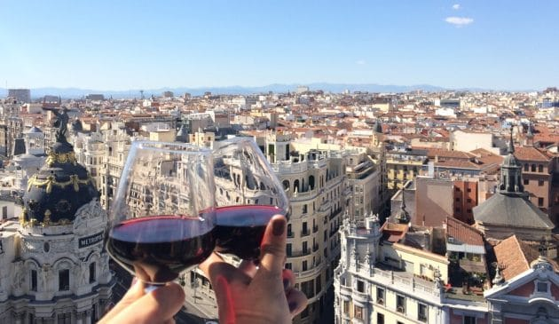 Les 12 meilleurs rooftops où boire un verre à Madrid