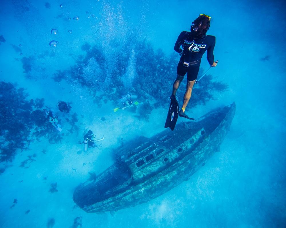 Plongée à l'Île de San Andres, Colombie