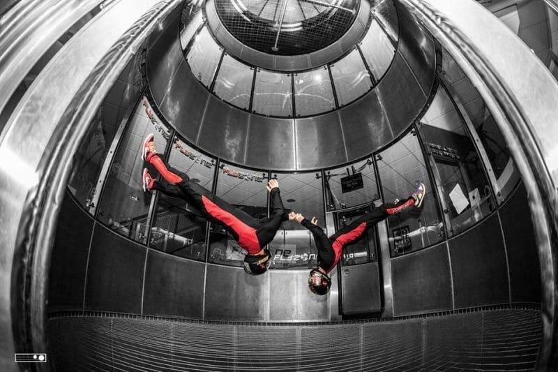 Simulation de chute libre à Toulouse