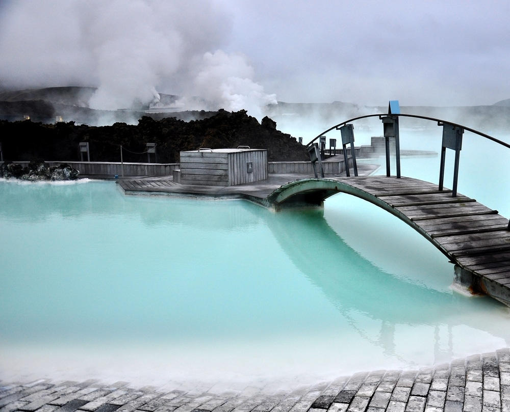 station thermale blue lagoon en islande
