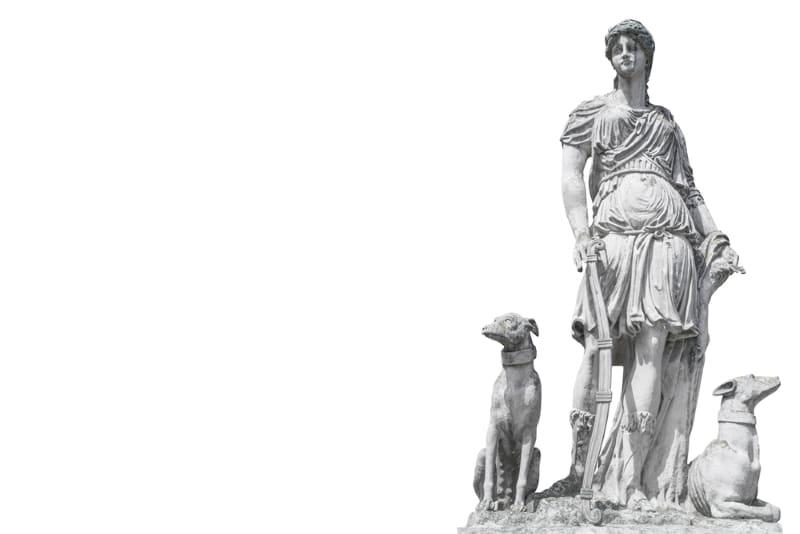statue artemis grotte loizos