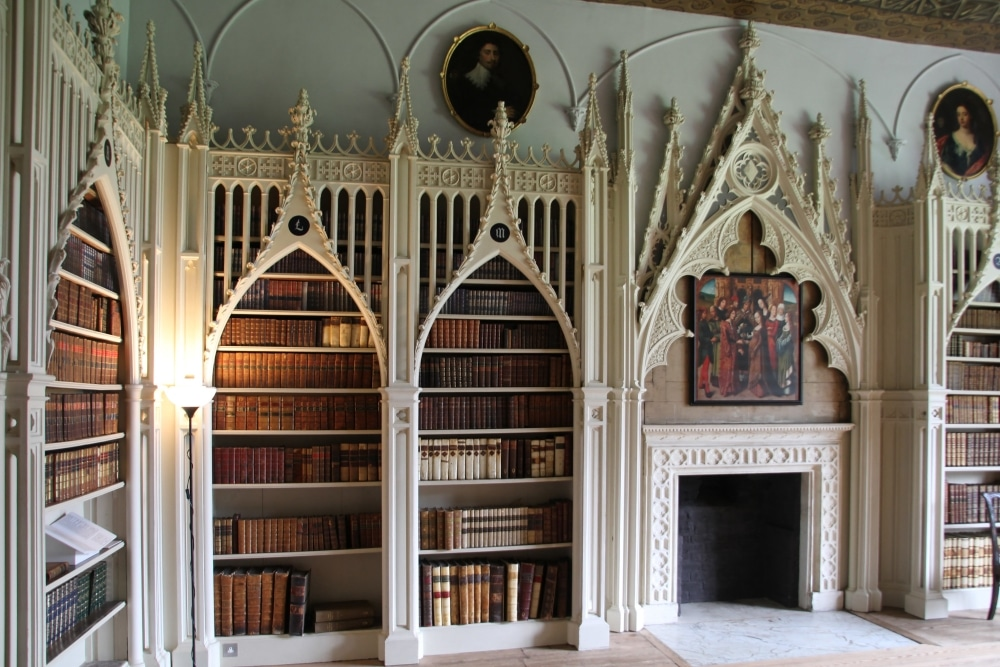 Strawberry hill house bibliotheque