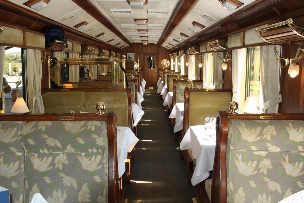 train orient express interieur