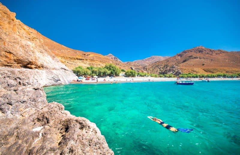 Plongée à Tripiti, Grèce