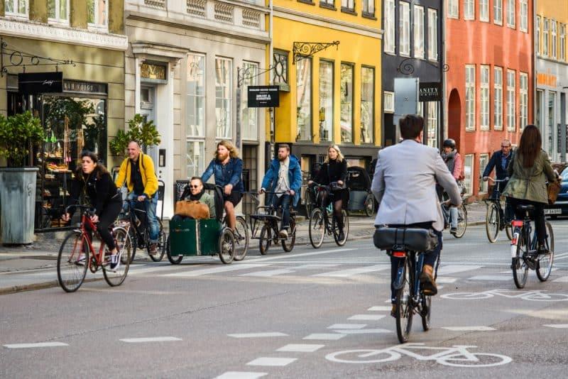 Vélo à Copenhague