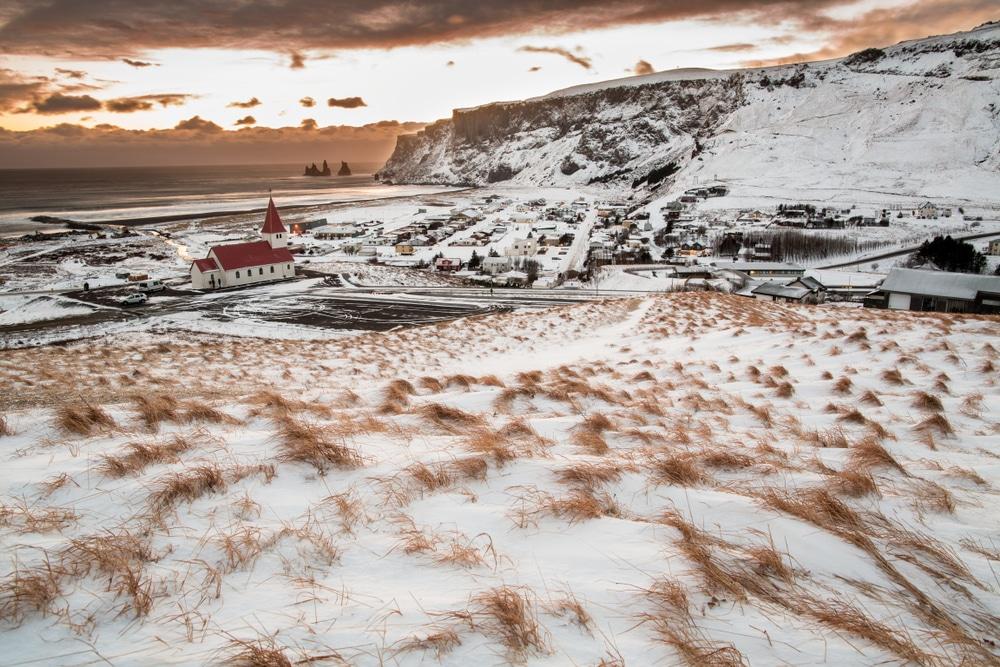 Plage de Vík í Mýrdal, Islande