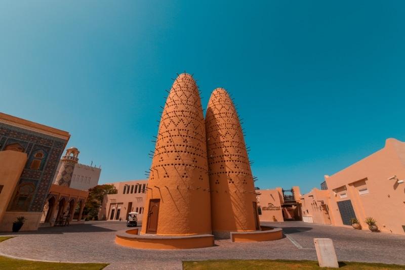 Village culturel de Katara au Qatar
