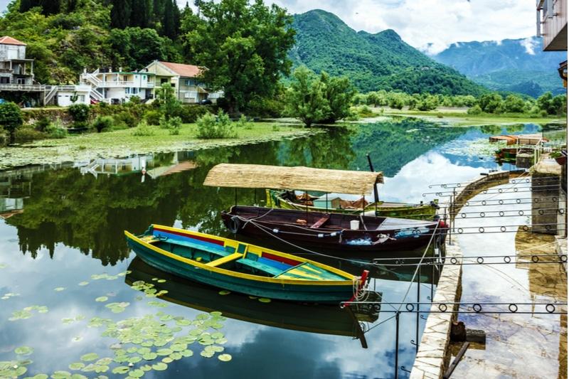 Virpazar, Lac Skadar, Montenegro