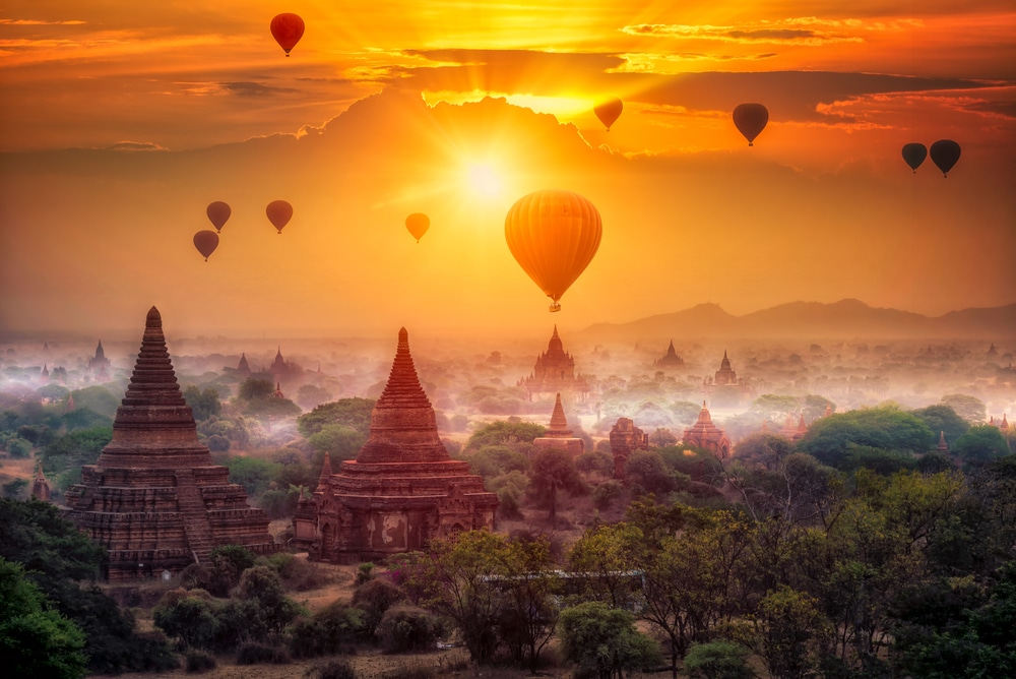 Les plus beaux endroits à visiter en Birmanie