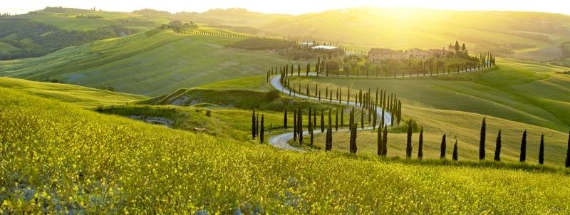 visiter la Toscane en camping car itinéraire