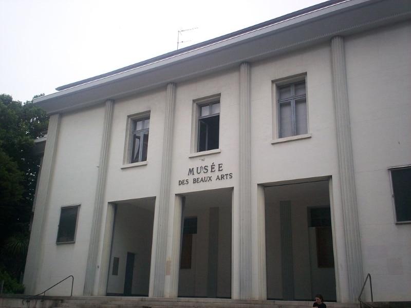 visiter musée des beaux arts de pau
