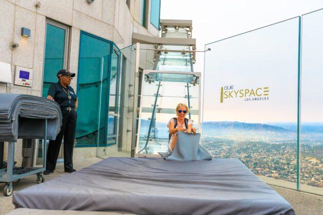 Visiter l'OUE Skyspace LA à Los Angeles : billets, tarifs, horaires