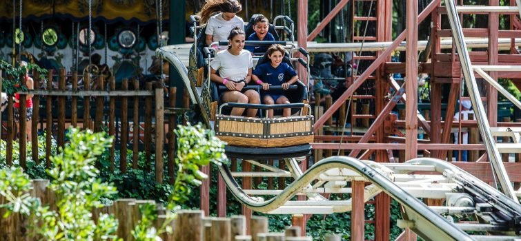 Attraction au Parque de Atracciones, Madrid