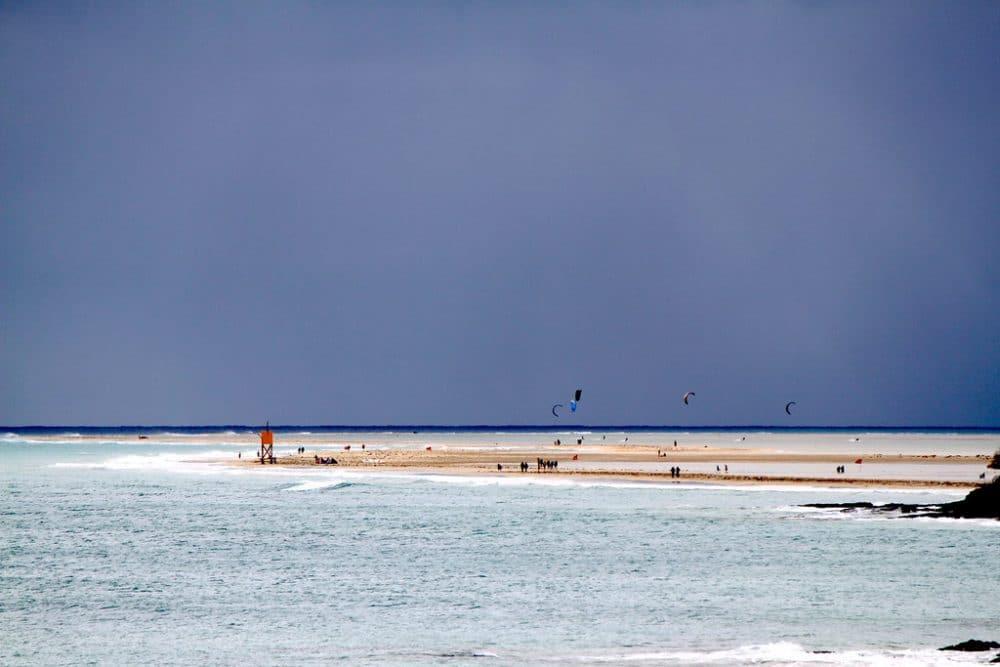 Plage de Sotavento, wakeboard, surf, Espagne