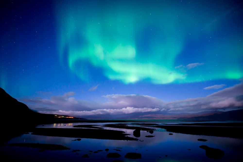 Parc national d'Abisco, aurore boréale, Suède