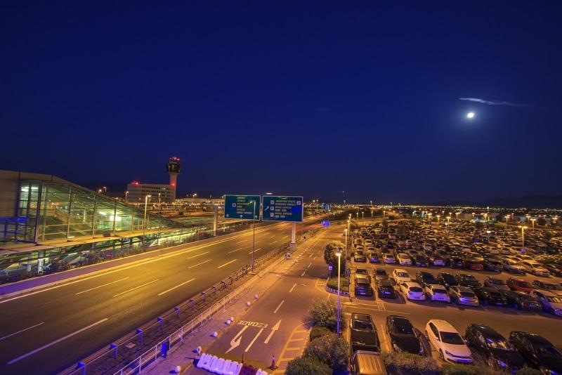aeroport athenes ouvert nuit