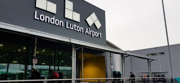 aeroport londres lutton