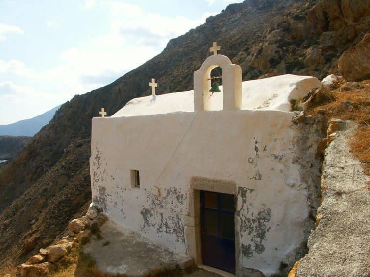 Chapelle d'Agios Antonios, Anafi