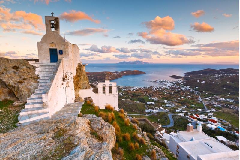 Eglise Agios Konstantinos, Sérifos