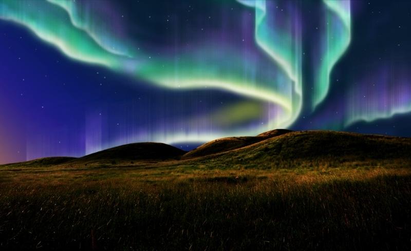 aurore boreale en alaska