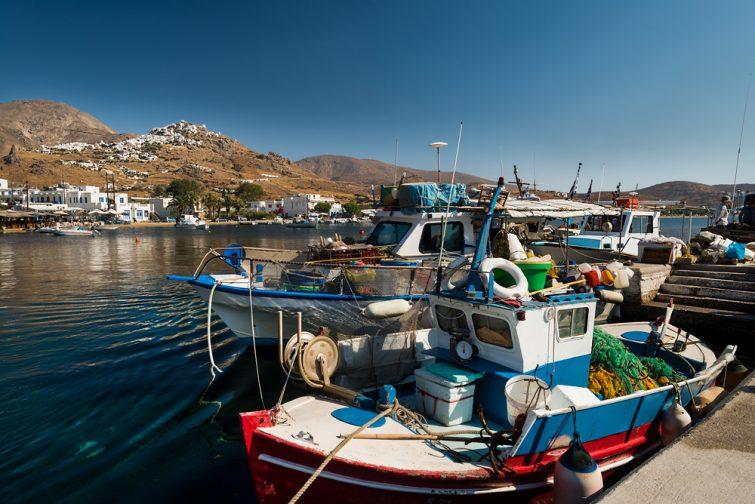 Visiter et louer un bateau à Sérifos