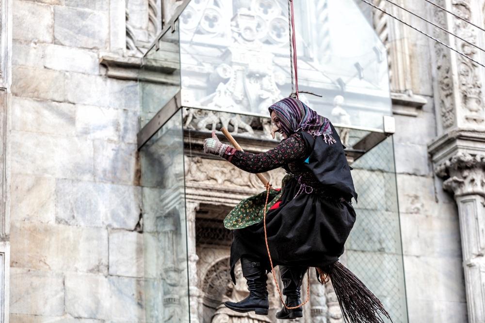 Befana, sorcière, noël, Italie