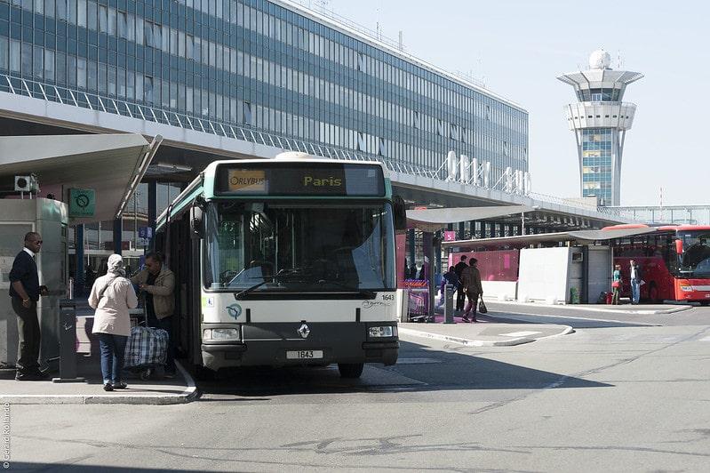 Orlybus, Paris aéroport