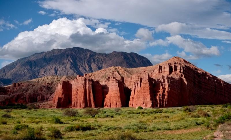 Montagnes, vallée, Calchaquies, Salta
