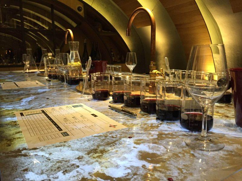 Atelier vin, Caves du Louvre, Paris