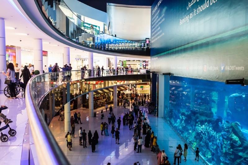 centre commercial shopping tour burj khalifa
