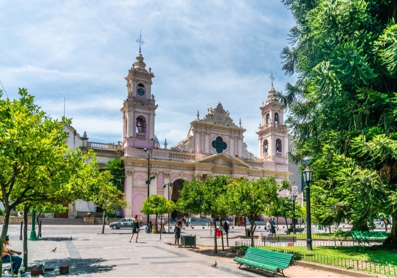 Cathédrale de Salta, Argentine
