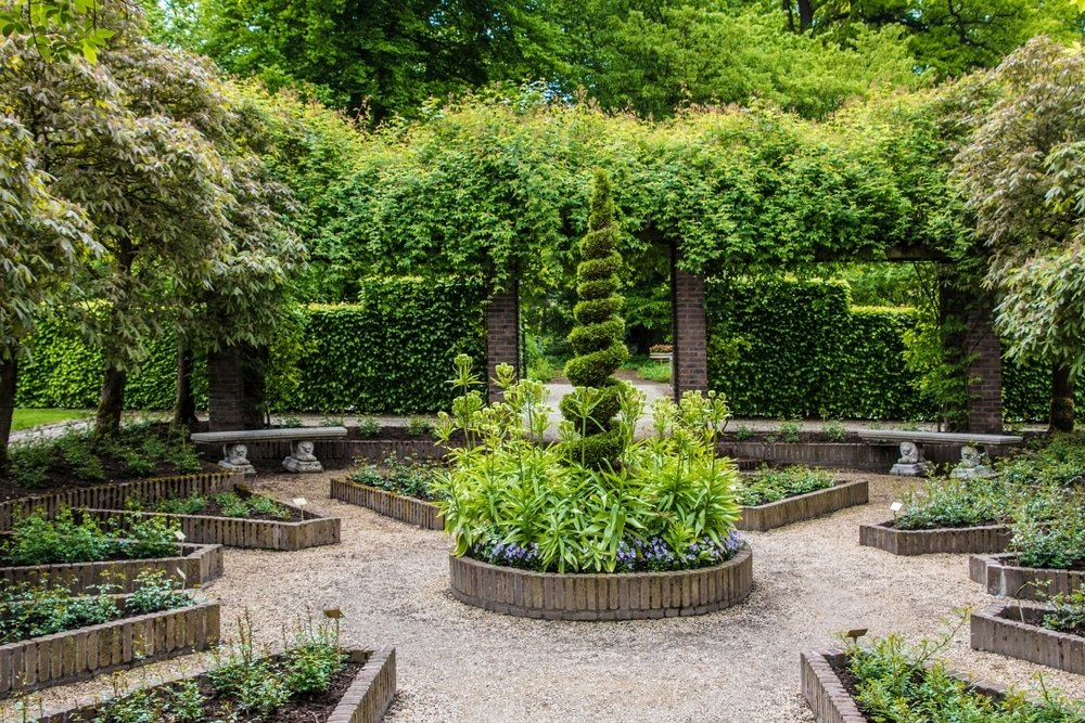 chateau arcen jardin europe aux pays bas