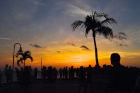 coucher de soleil dans le monde key westy