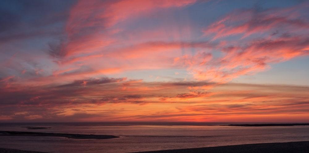 coucher soleil dune pilat