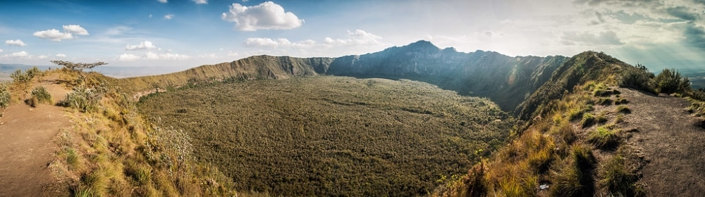 cratere volcan longonot kenya