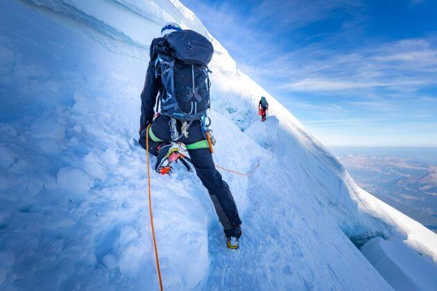 8 endroits où faire de l'escalade à Chamonix